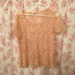 Fossil lace top